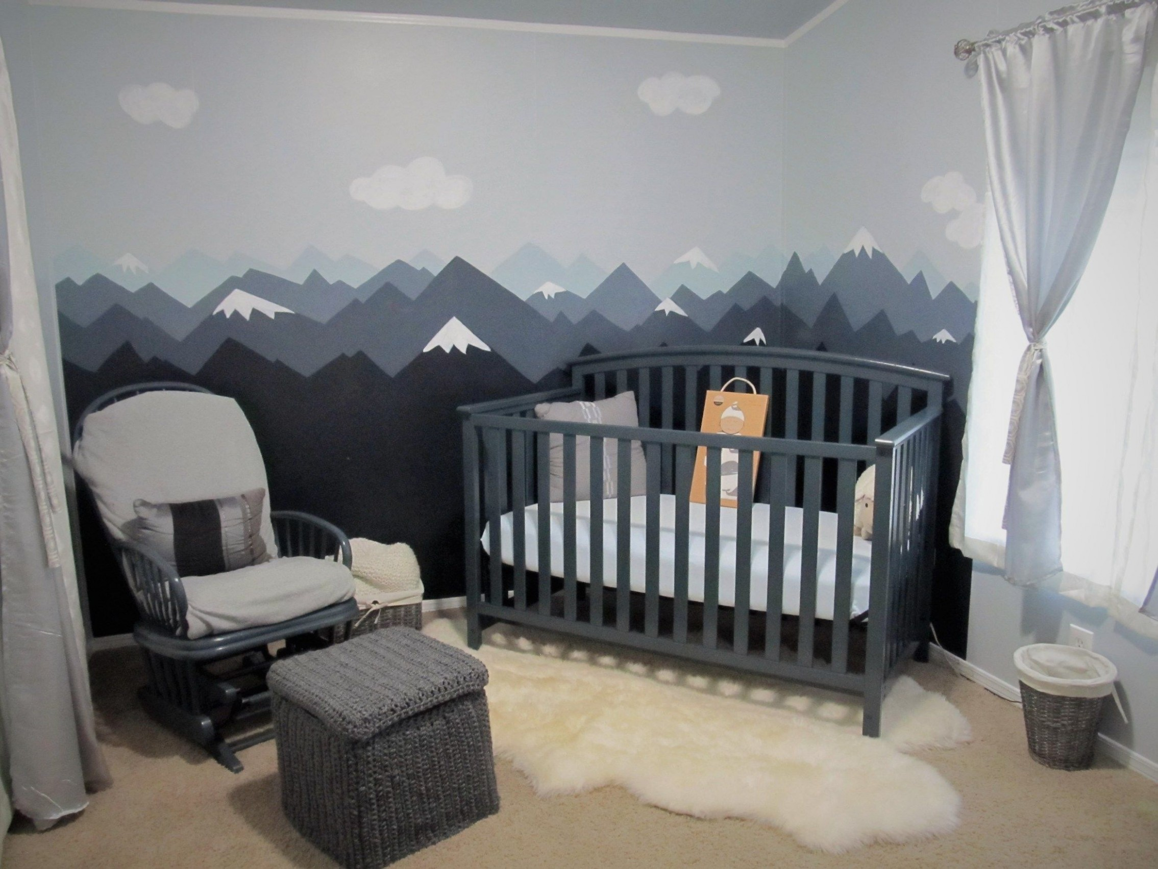nursery idea,nursery,baby girls nursery,babies nursery ideas,girl  - Baby Room Mountain Theme