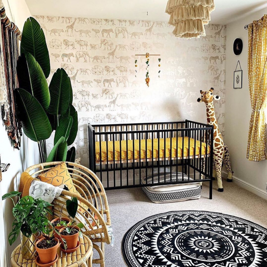 Nursery Trends This Week: The Safari Theme Done Right