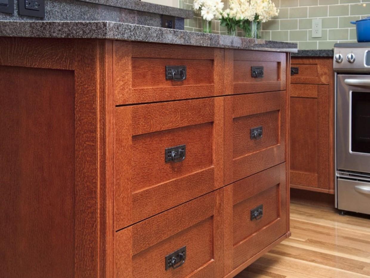 Oak Shaker Kitchen Cabinets  Shaker style kitchen cabinets  - Red Shaker Kitchen Cabinets