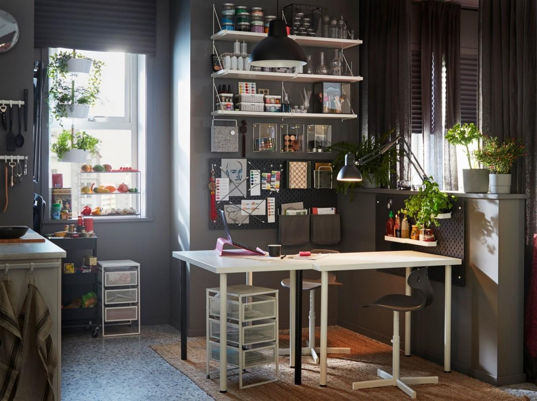 Office Storage - Workspace Storage Solutions - IKEA CA - Home Office Organization Ideas Ikea