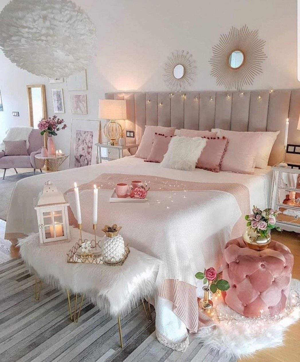 "Olivia Jent on Instagram: ""Bedroom goals 🙌🏼 YAY or NAY  - Bedroom Ideas Instagram"