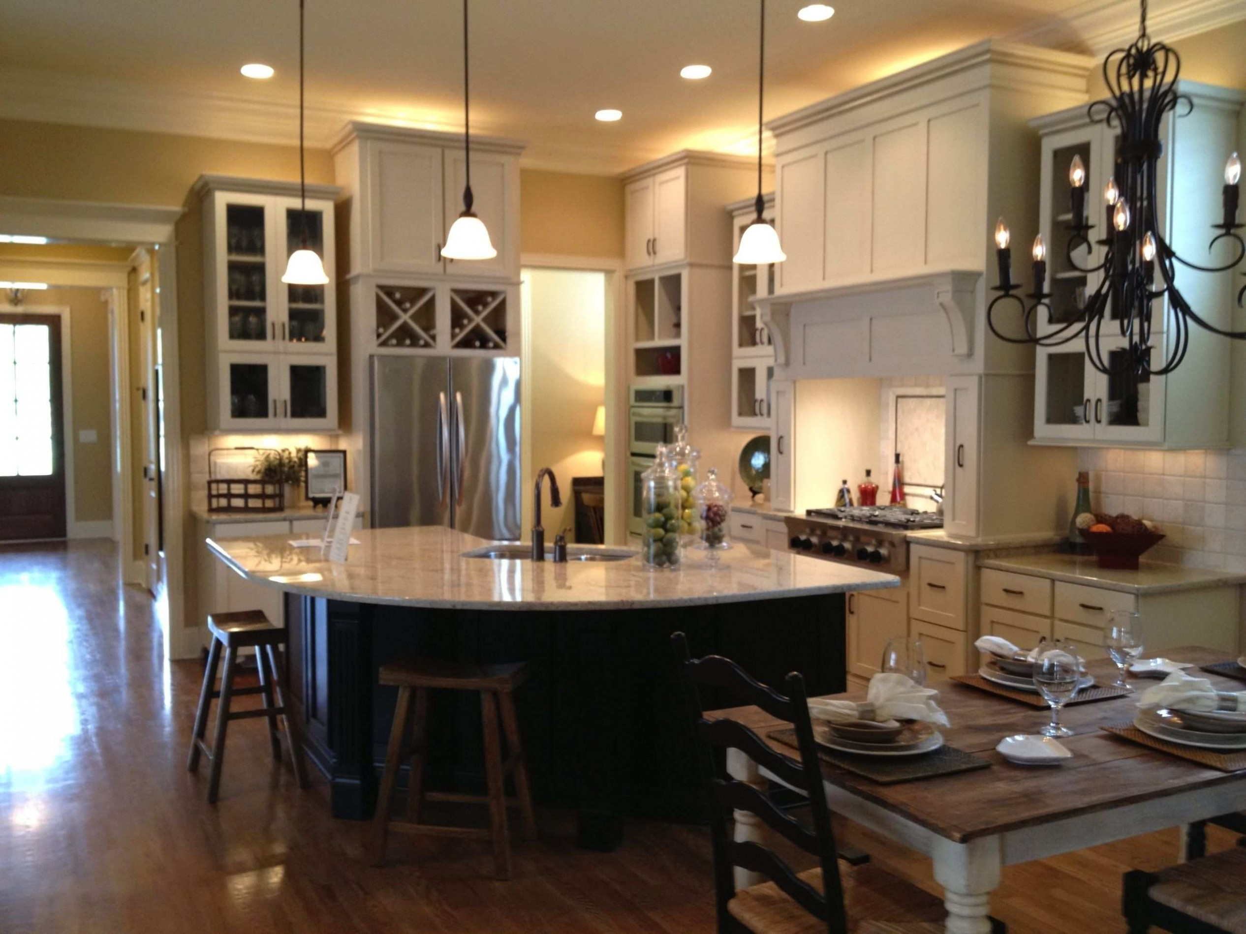 Only Furniture: Surprising Kitchen Living Room Design Ideas Open  - Dining Room Open To Kitchen Ideas