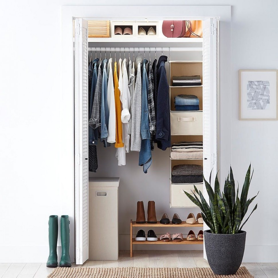 Organizing Your First Apartment: Closet Storage  Container Stories - Closet Ideas In Apartment