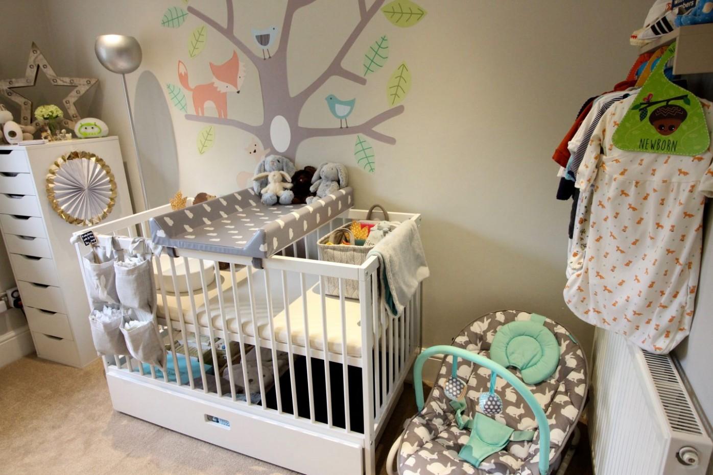 Our Woodland Themed Nursery Tour including Ikea Hacks! – Mummy  - Baby Room Hacks