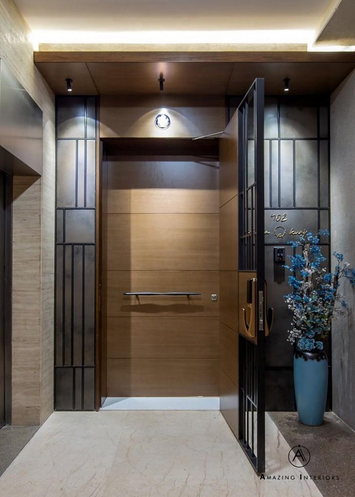 Pin By Dhwani Rajput On Door In 11 Door Design  Door design  - Apartment Entrance Design