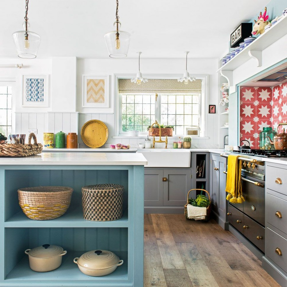 Pin by Val Naylor on House Redo in 9  Blue shaker kitchen  - Naylor Kitchen Cabinet