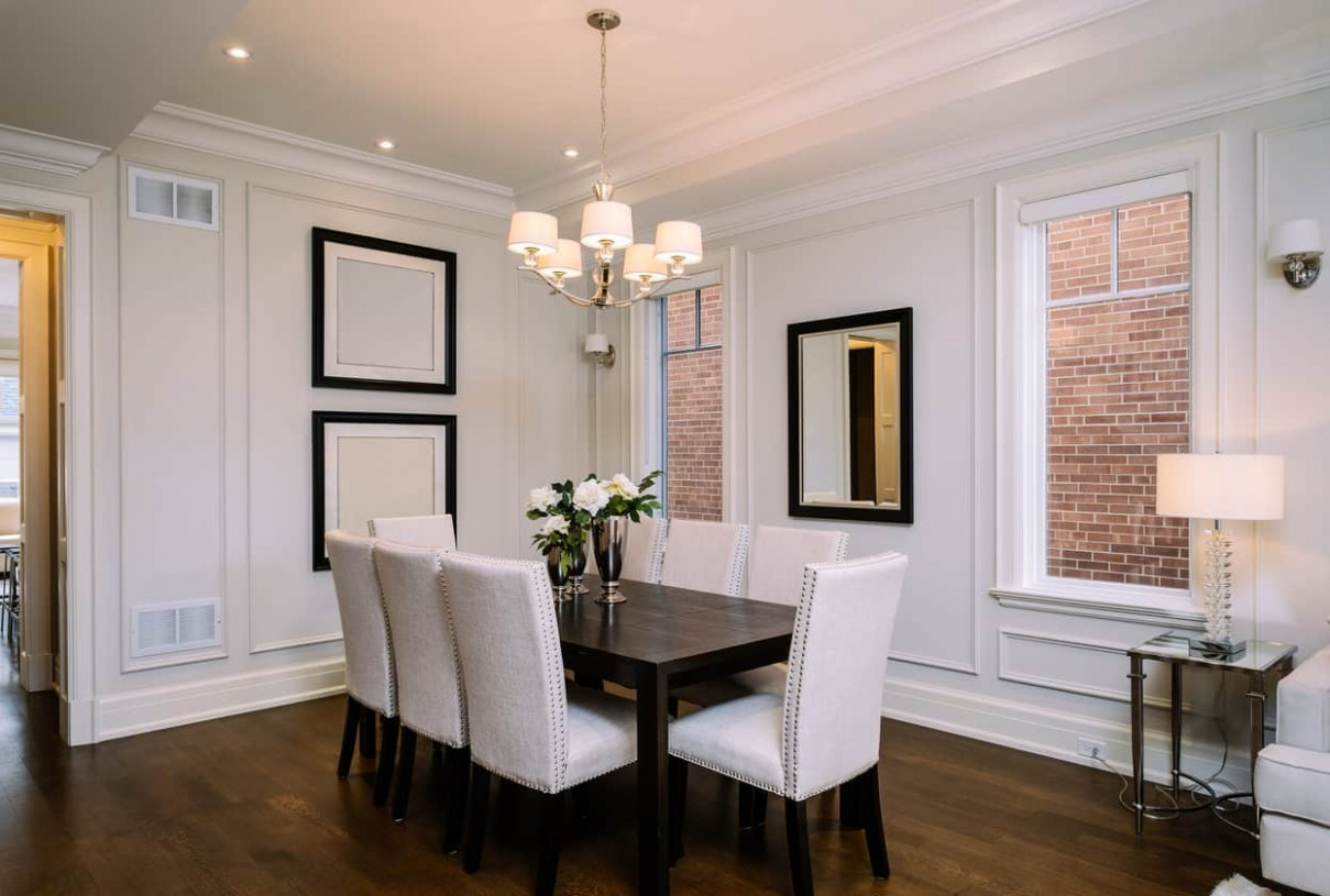Proper Dining Room Table Dimensions for 8, 8, 8, 8 and 8 People  - 12 X 12 Dining Room Ideas