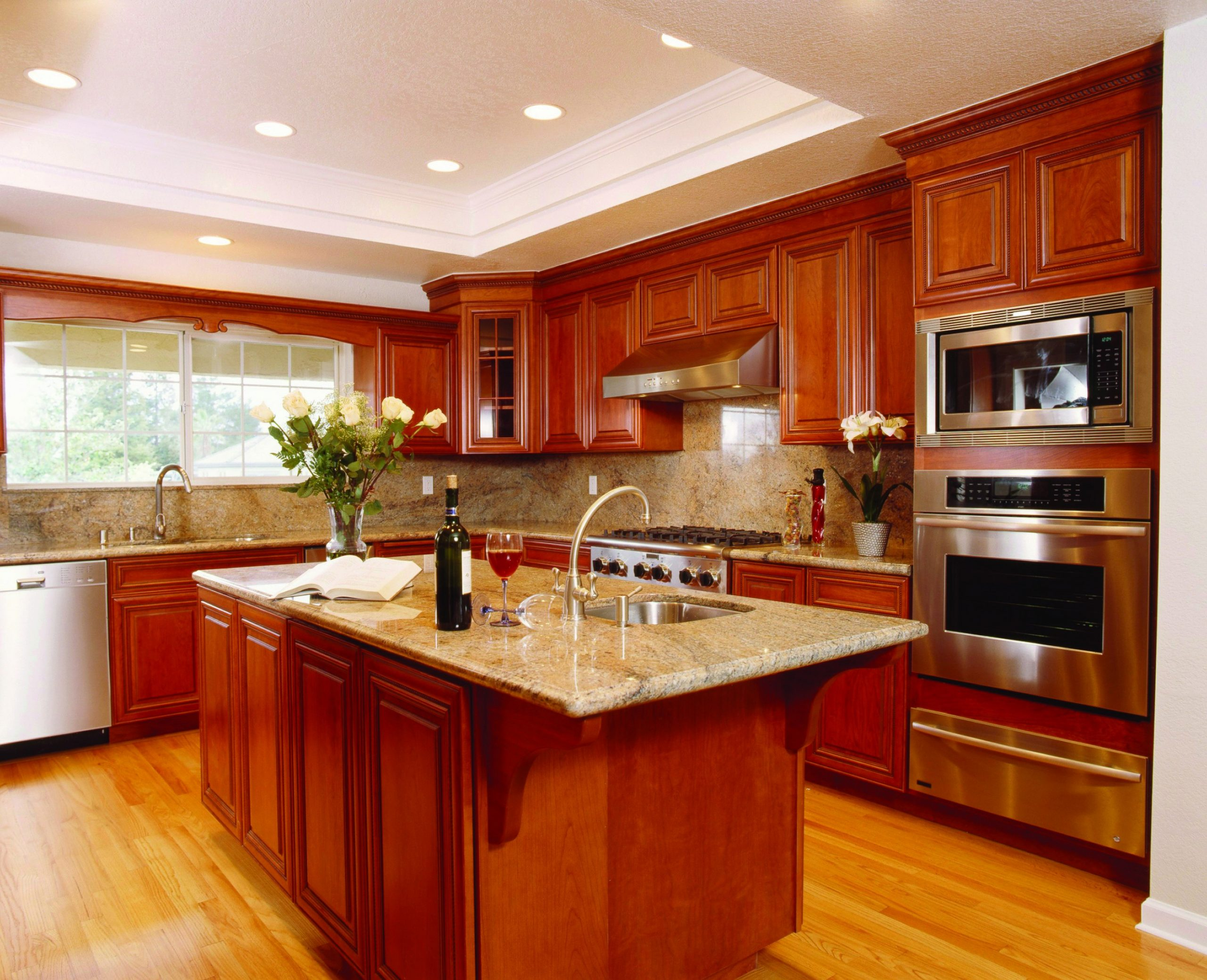 Really nice woodwork and cabinets: Kitchen Rejuvenation #12  - New Yorker Kitchen Cabinets