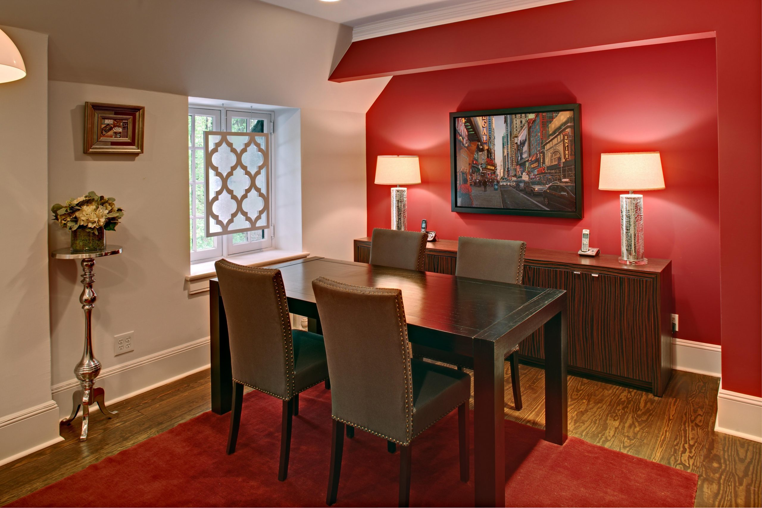 Red Dining Room Designs Decorating Ideas Design - Decoratorist  - Dining Room Ideas Red