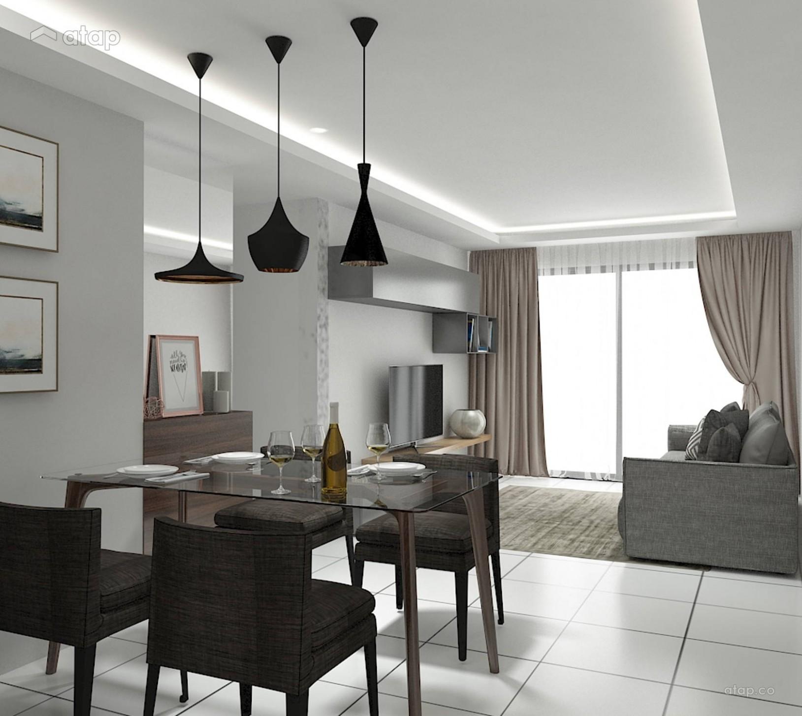 Refurbish old apartment interior design renovation ideas, photos  - Apartment Design Malaysia