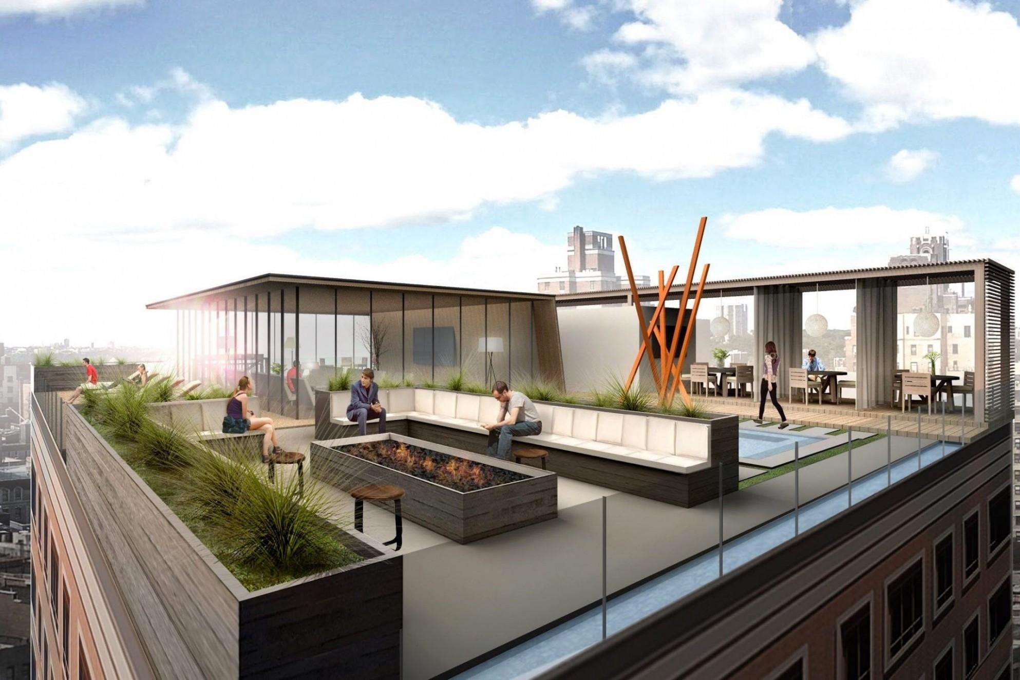Rooftop Design Apartment di 11  Desain apartemen, Desain  - Apartment Roof Design