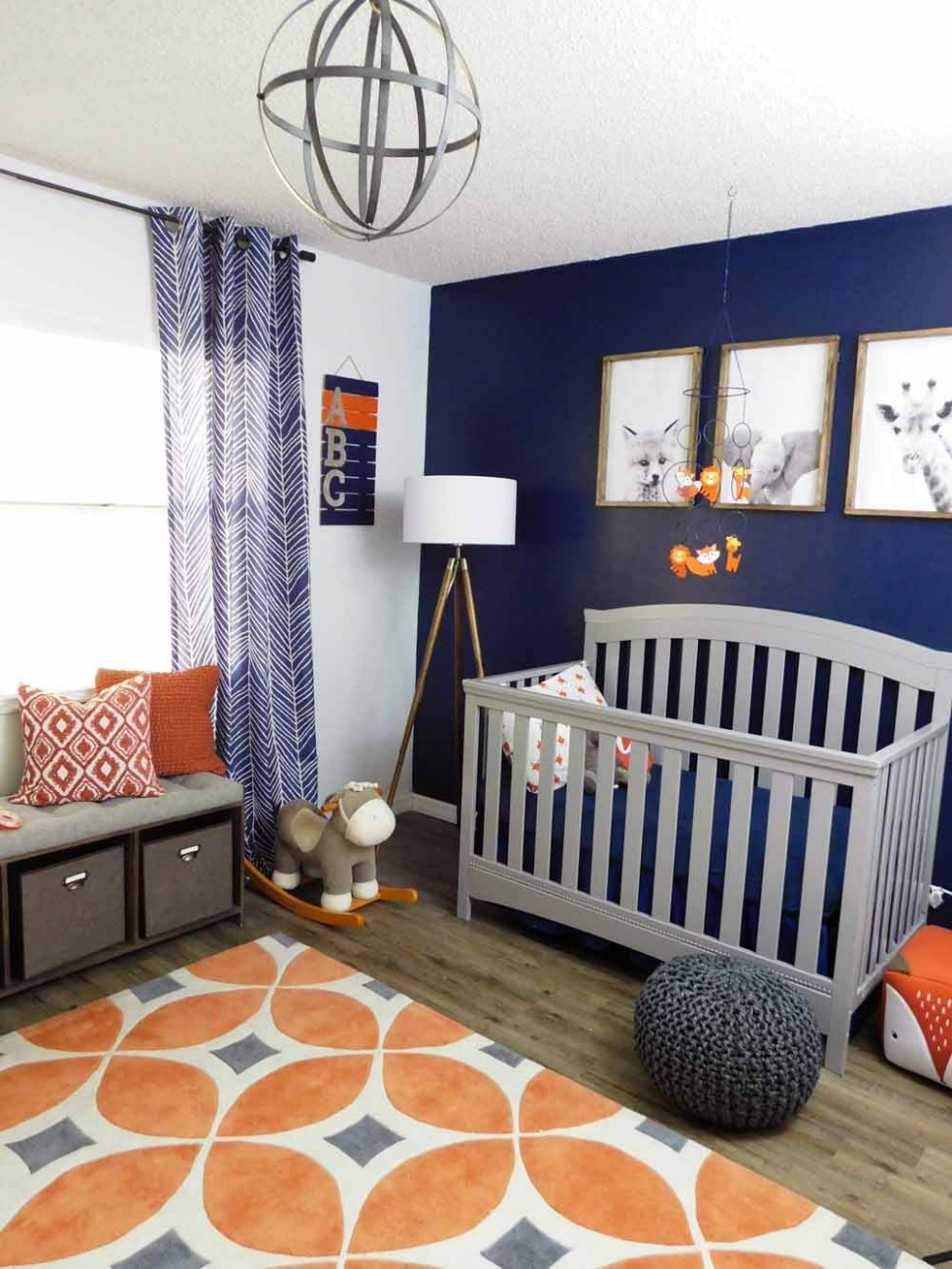 Room Reveal-Simple DIY Room Décor for your Baby Nursery  My  - Baby Room Blue