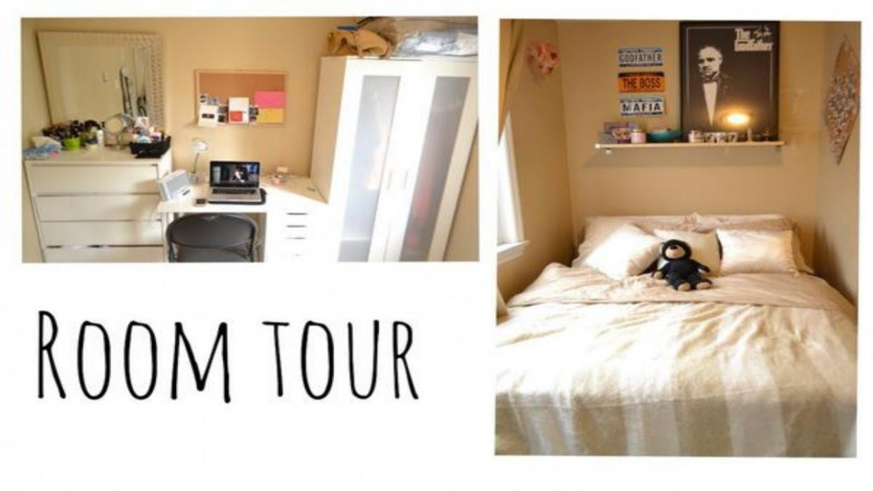 ROOM TOUR  Small Bedroom Ideas - Bedroom Ideas Youtube