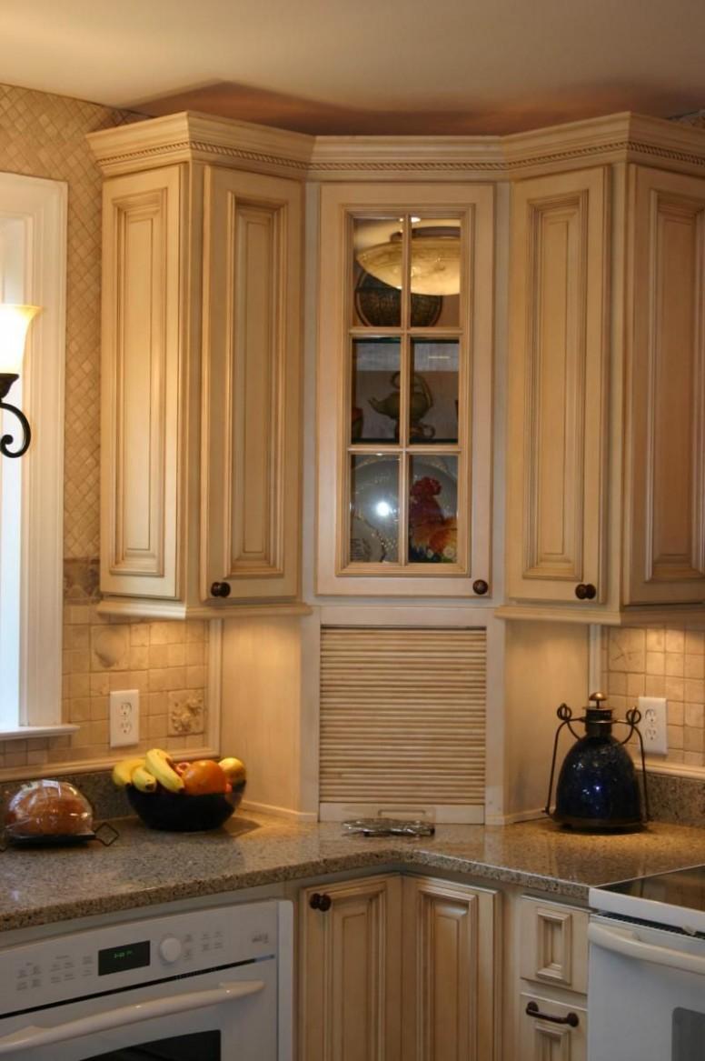 Royals Designers Source - Remodel  Corner kitchen cabinet, Upper  - Corner Kitchen Cabinet Appliance Garage