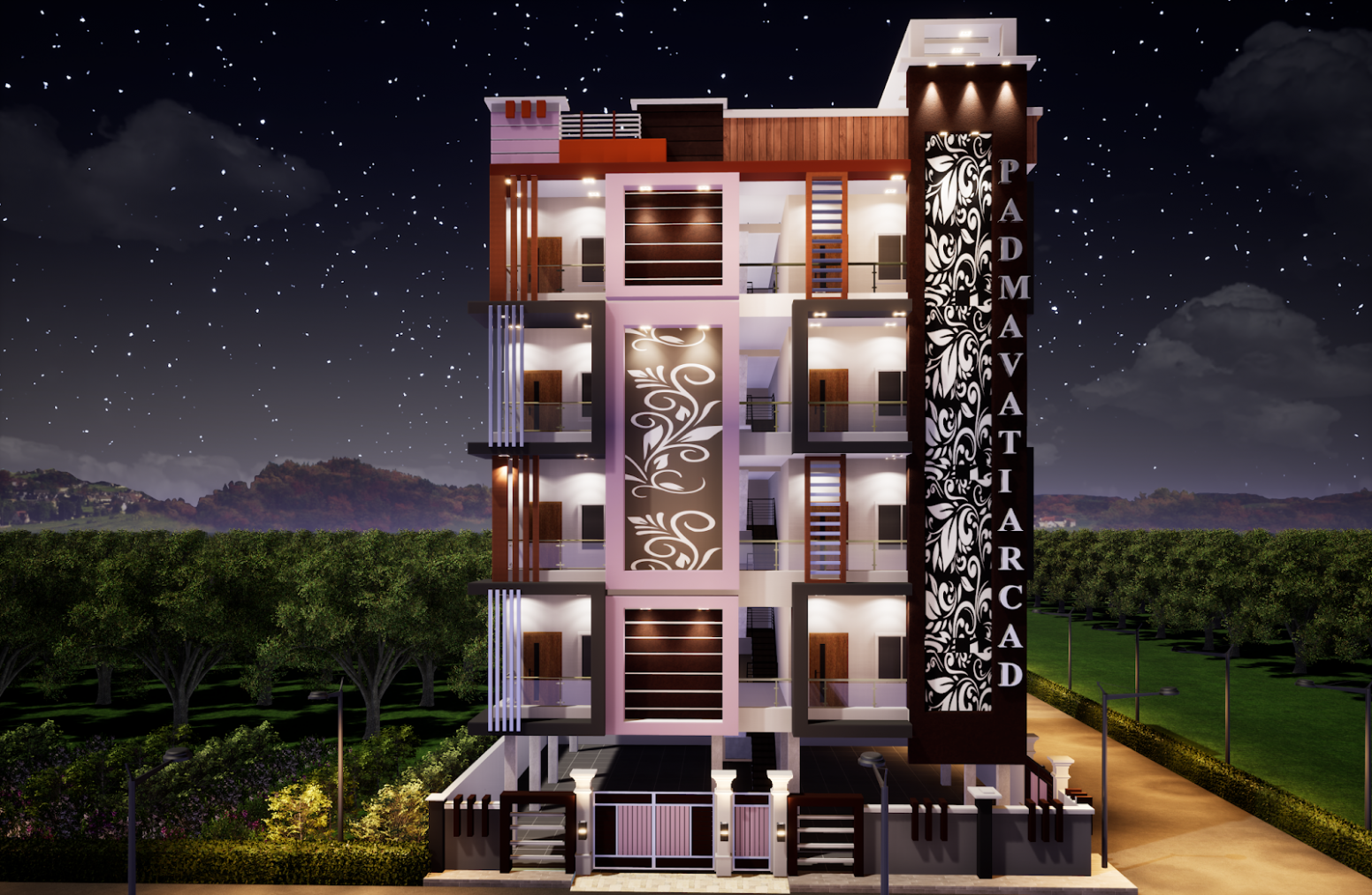 S11 Designs11: Best apartment elevations  Apartment elevation  - Apartment Design Elevation