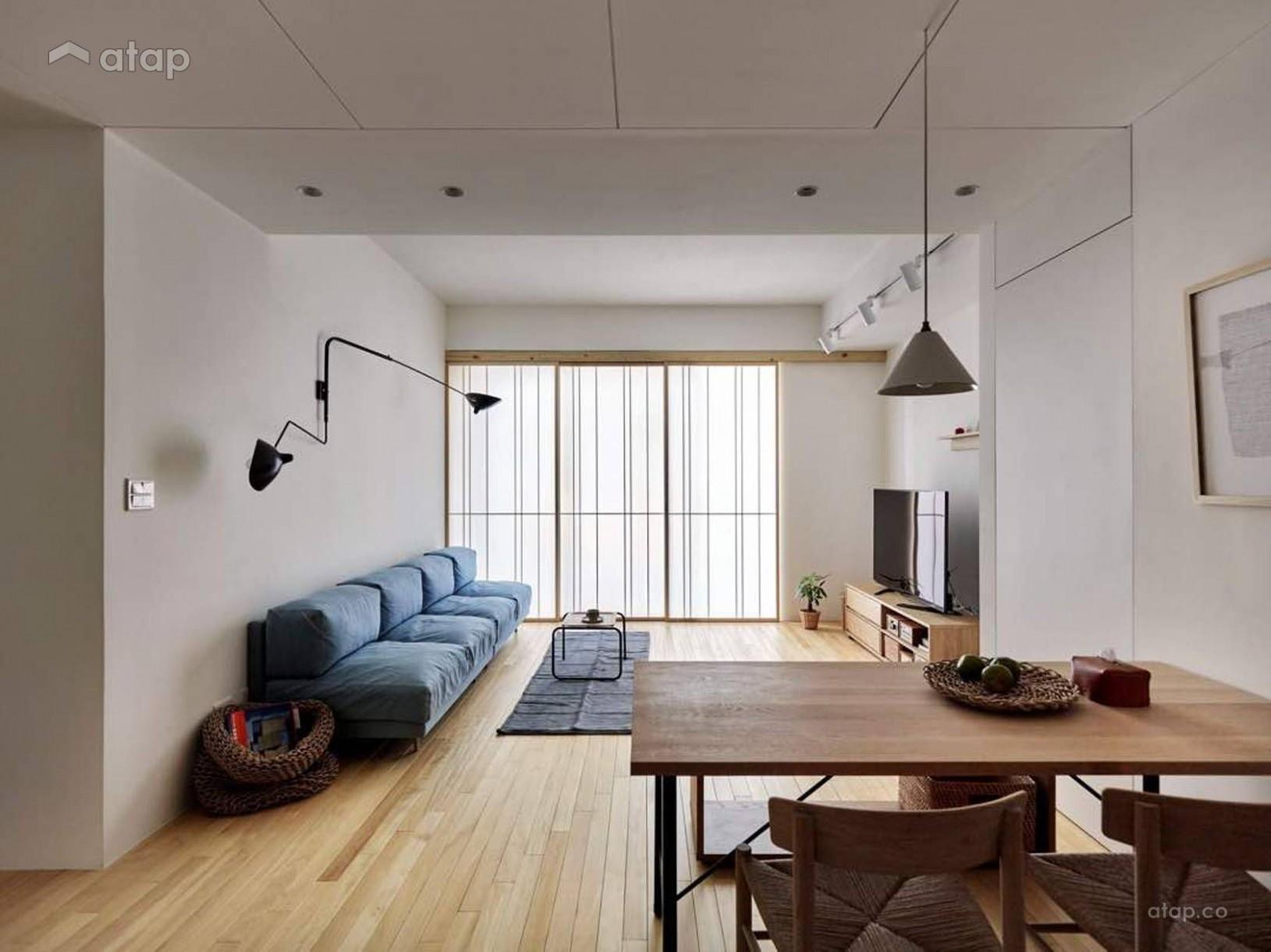 Scandinavian Living Room apartment design ideas & photos Malaysia  - Apartment Design Malaysia