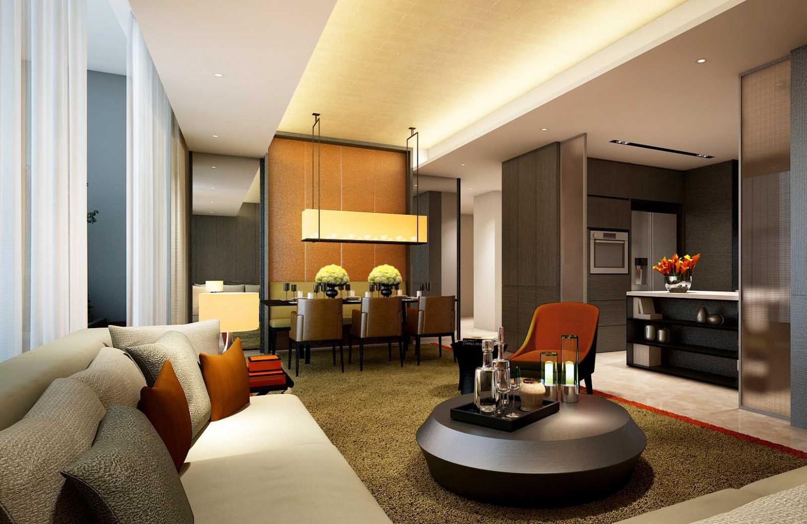 SCDA GCMN Apartments, Jakarta, Indonesia  Apartment design  - Apartment Interior Design Jakarta