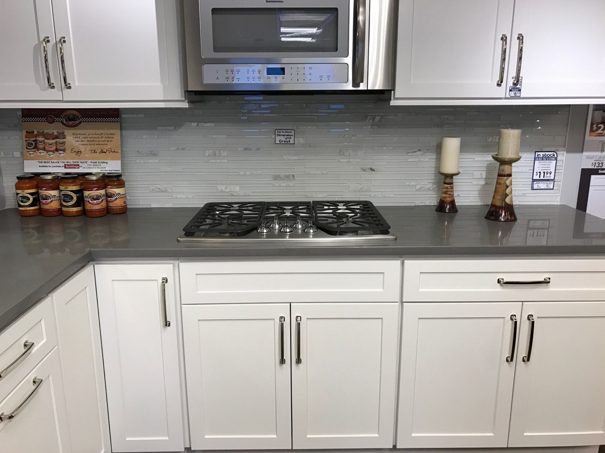 Sedona Maple Alpine In Stock Cabinetry - Exclusively at Schillings  - Kitchen Cabinets Mokena Il