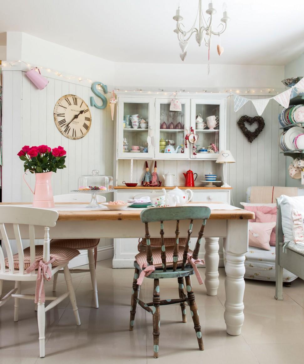 Shabby chic dining room ideas – Shabby chic furniture – Shabby chic - Dining Room Ideas Shabby Chic