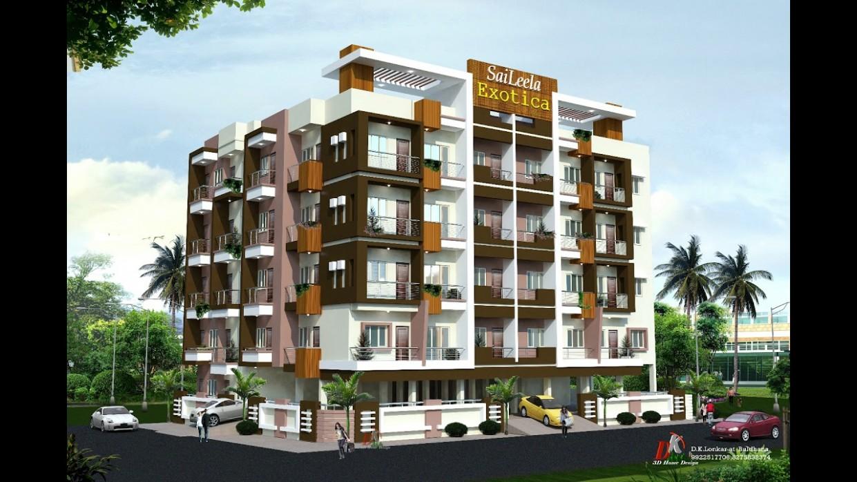 SIMPLE APARTMENTS EXTERIOR DESIGNS INDIAN STYLE - YouTube - Apartment Exterior Design India