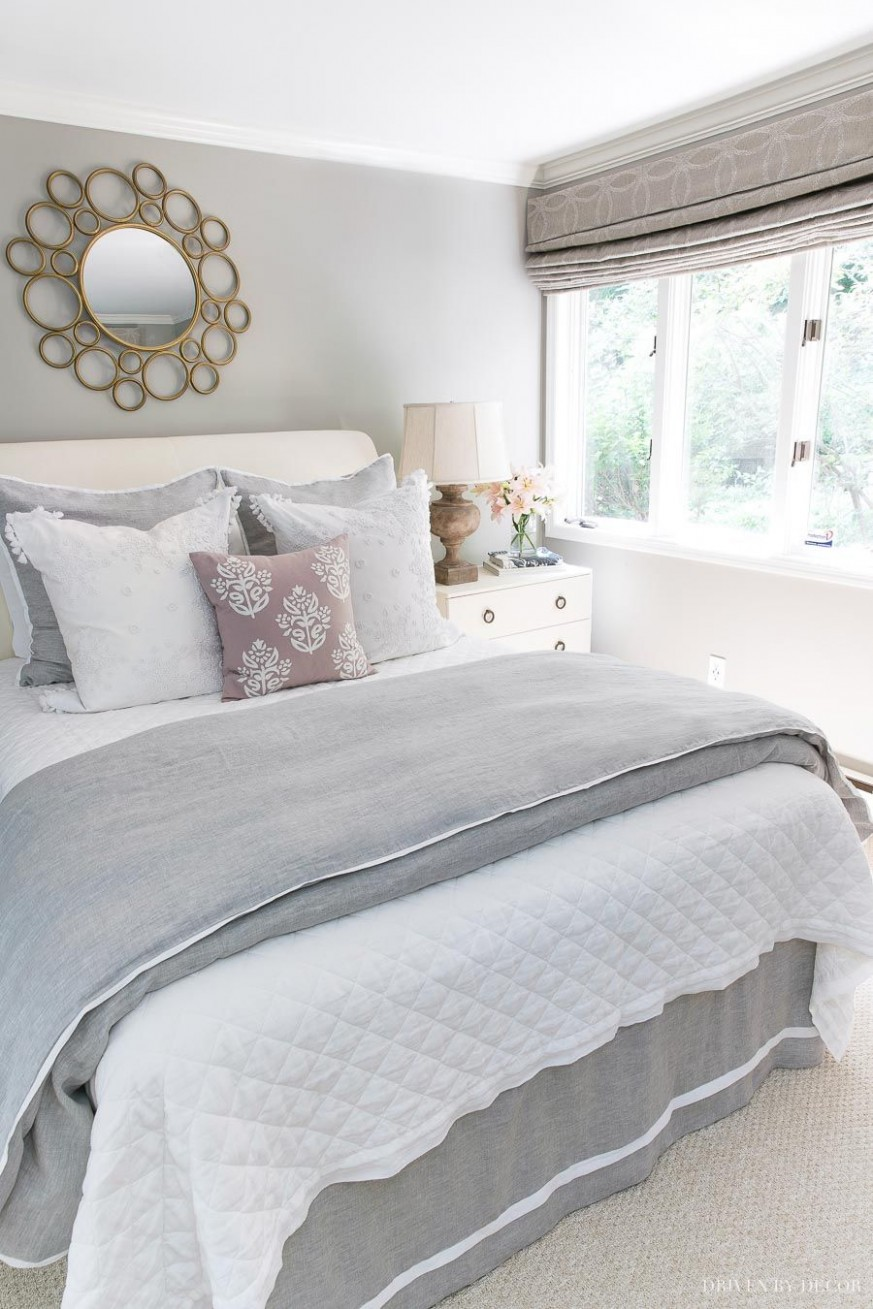 Six Simple Ideas for Creating a Guest Bed Your Guests Will Love  - Bedroom Quilt Ideas