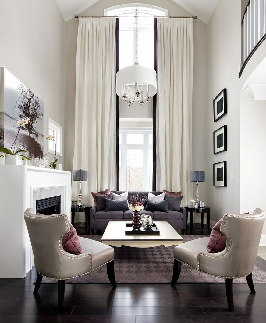 Sizing It Down: How to Decorate a Home with High Ceilings - Bedroom Ideas High Ceilings