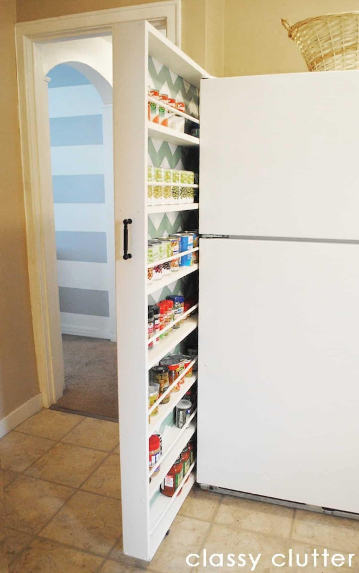 Slim Pantry Cabinet for 9 - Ideas on Foter - What To Do With Skinny Vertical Cabinet Kitchen