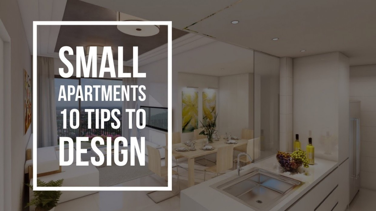 Small Apartments - 8 Tips  Interior Design Ideas - Apartment Design Basics
