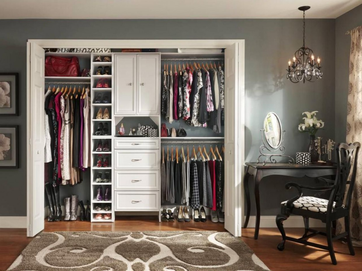 Small Closet Organization Ideas: Pictures, Options & Tips  Closet  - Closet Ideas In Bedroom