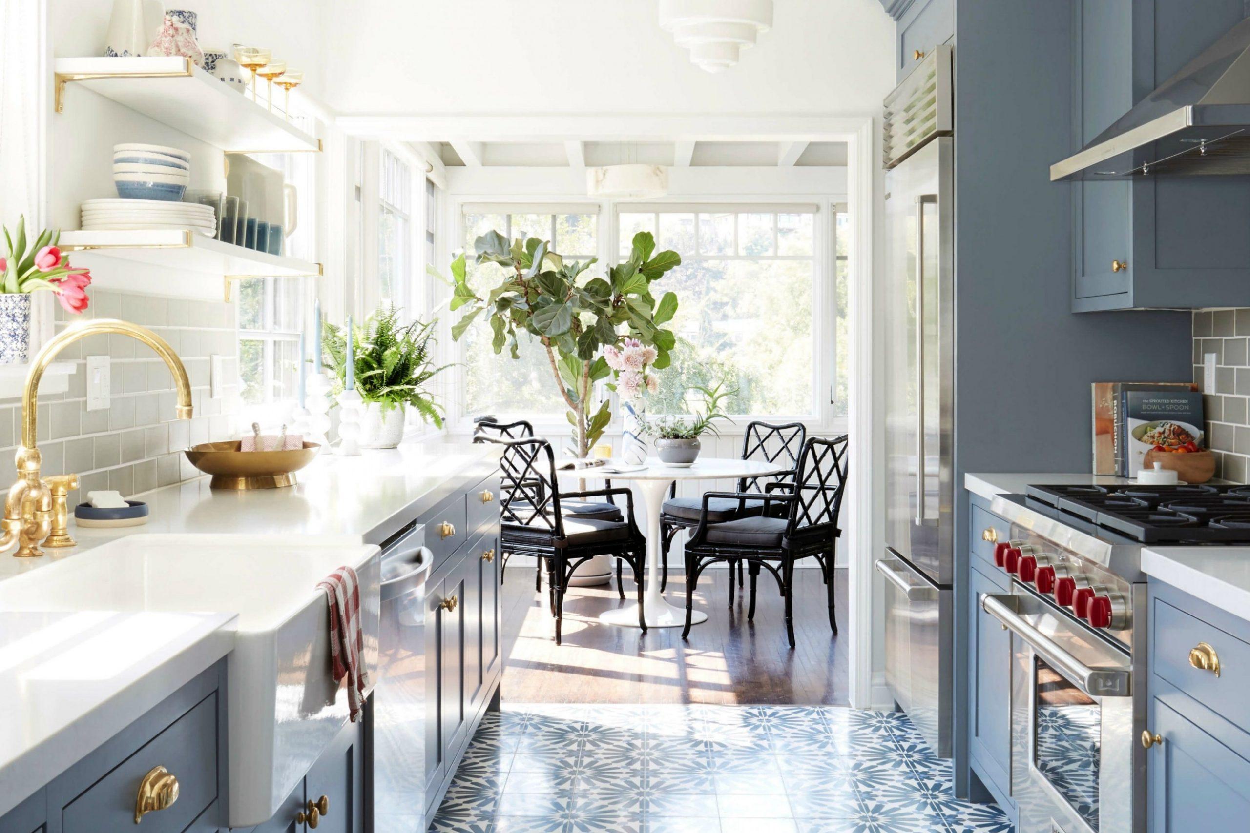 Small Galley Kitchen Ideas & Design Inspiration  Architectural Digest - Diy Galley Kitchen Cabinet Ideas