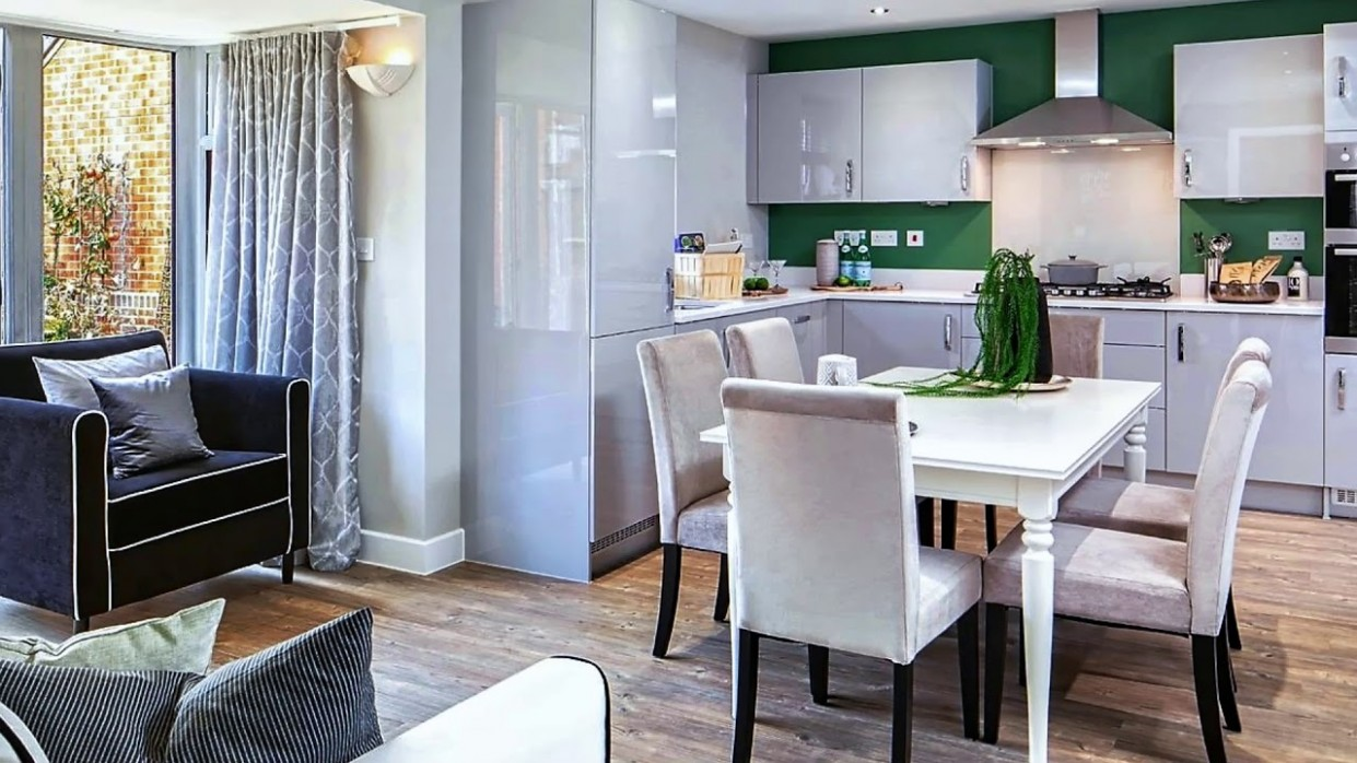Small Kitchen/Dining Room Together - New Ideas - Dining Room Kitchen Ideas