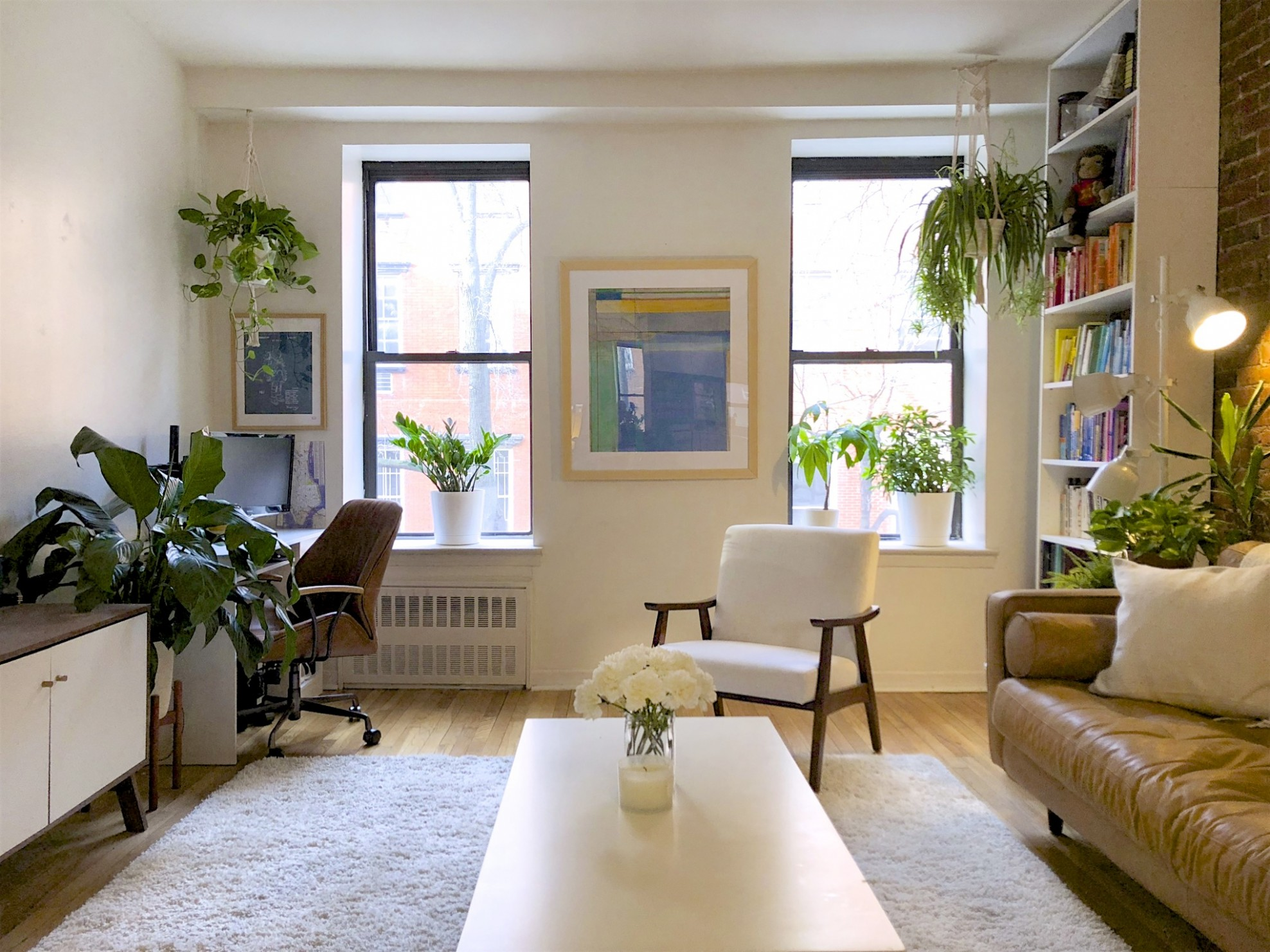 Small NYC Apartment Rental Filled With Plants  Apartment Therapy - Apartment Design Nyc