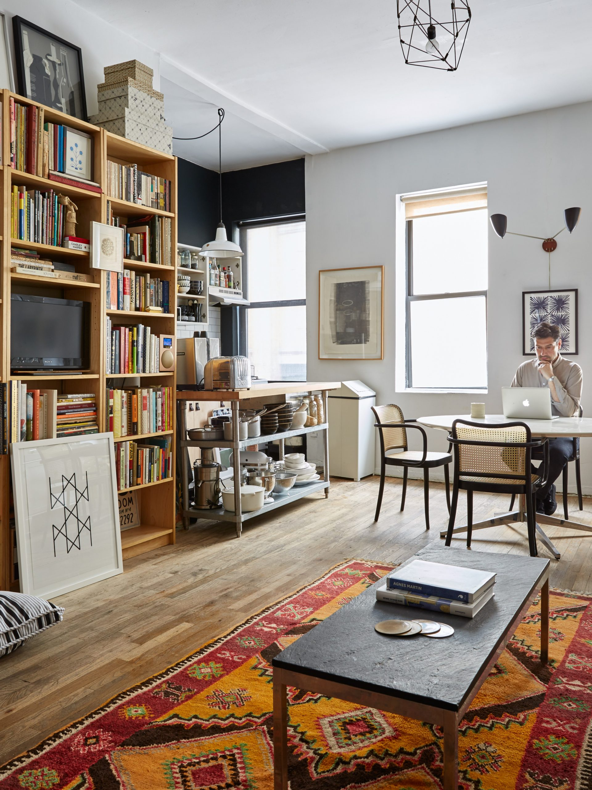 Small-Space Solutions: 10 Affordable Tips from an NYC Creative  - Apartment Design Nyc
