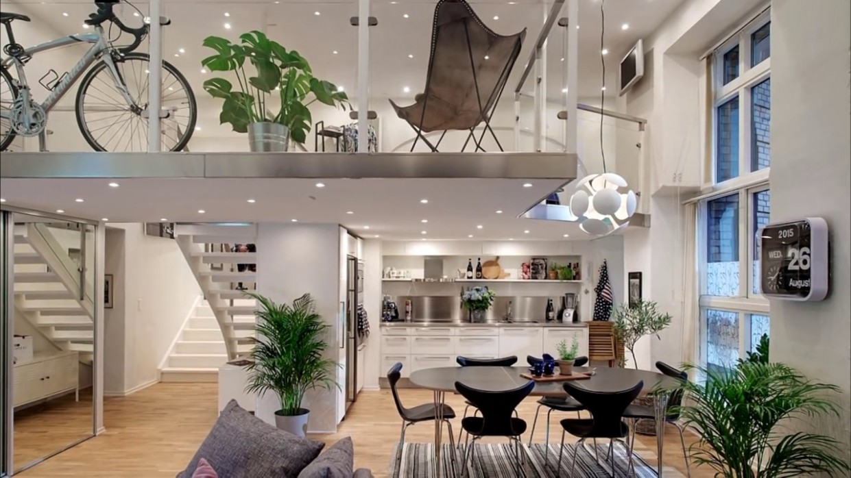 Small Studio Loft Apartment Design / Beautiful Modern Lofts - Loft Apartment Decor Ideas