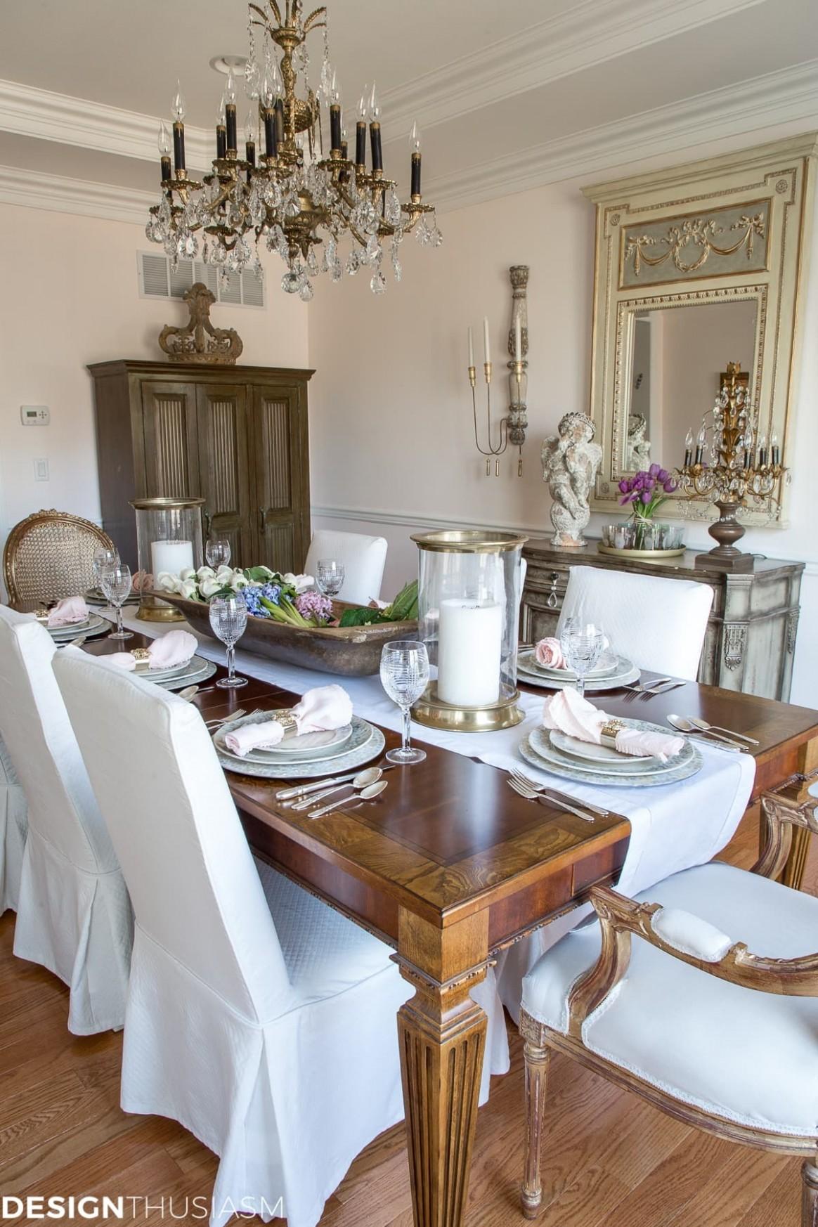 Spring Decorating Ideas Dining Room Simple – Saltandblues - 12 X 12 Dining Room Ideas