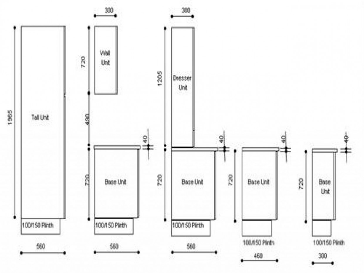 Standard Size Kitchen Wall Cabinets - The majority of dwelling  - Kitchen Wall Cabinets Measurements