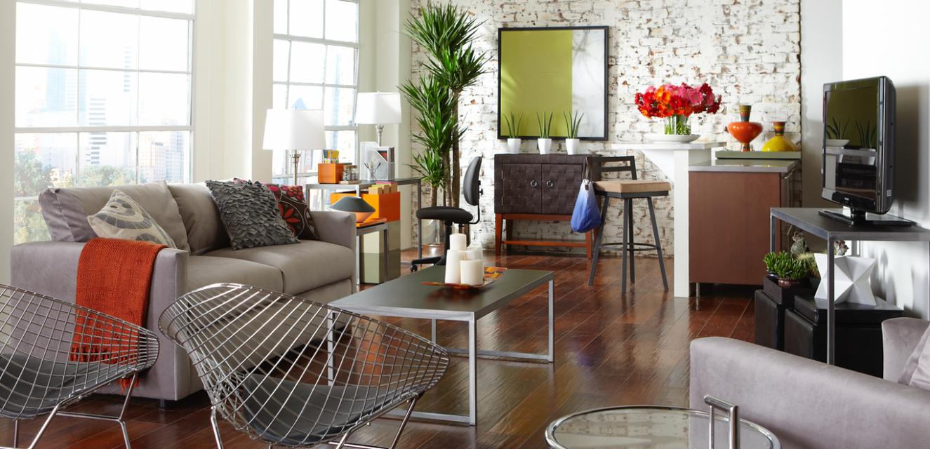 Student Apartment and College Dorm Design Ideas  CORT - Apartment Decorating Ideas College Students