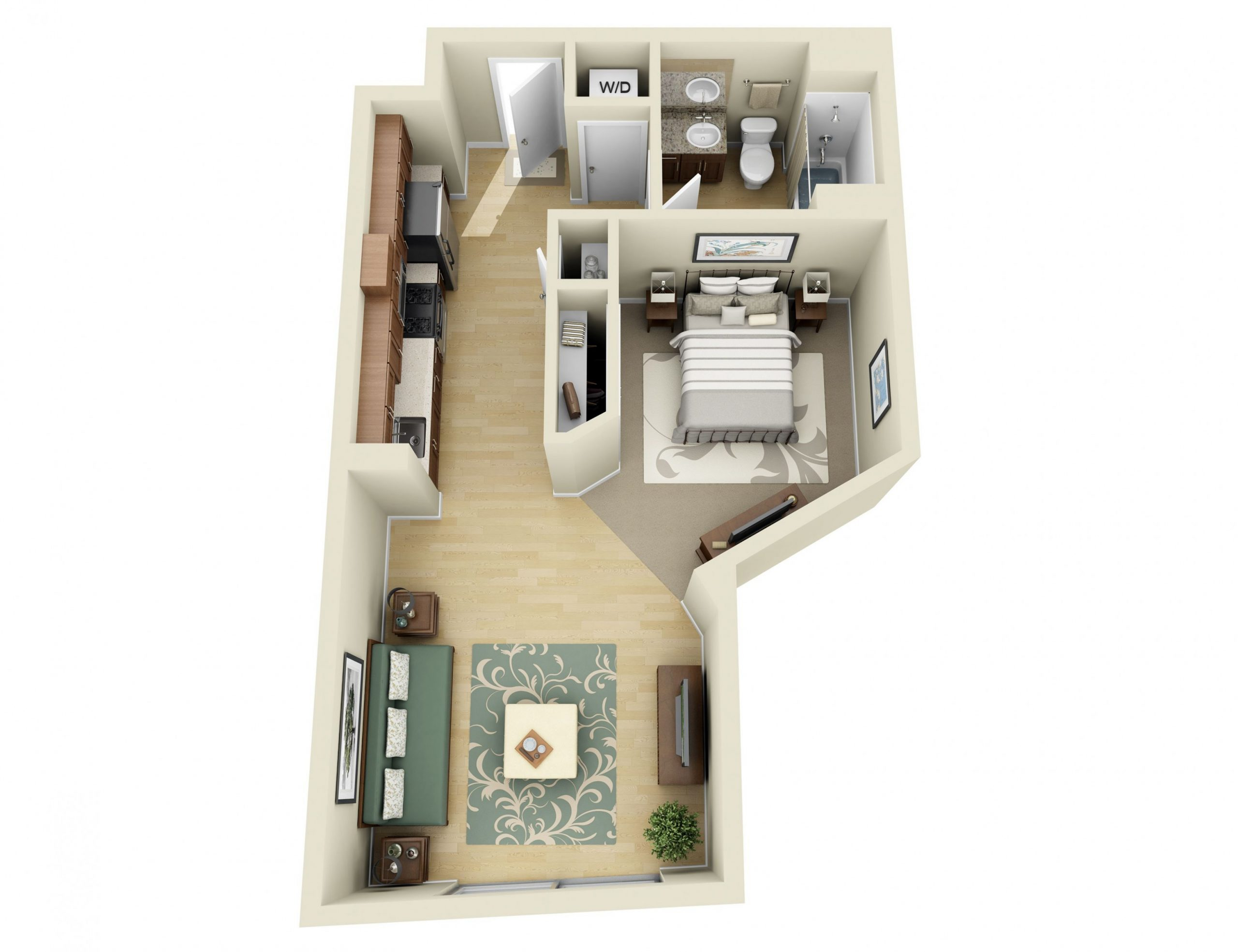 Studio, 100, 100 and 100 Bedroom Apartments in Los Angeles  100 bedroom  - Apartment Design Guide Part 3