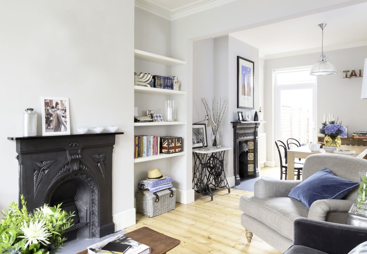 Stunning in suburbia  Victorian living room, Victorian house  - Bedroom Ideas Victorian Terrace