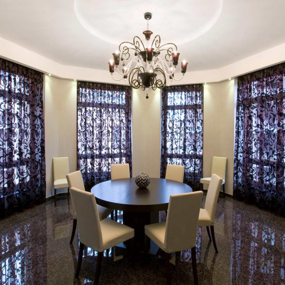 Stylish Dining Room Curtain Ideas  Family Handyman - Dining Room Drapery Ideas