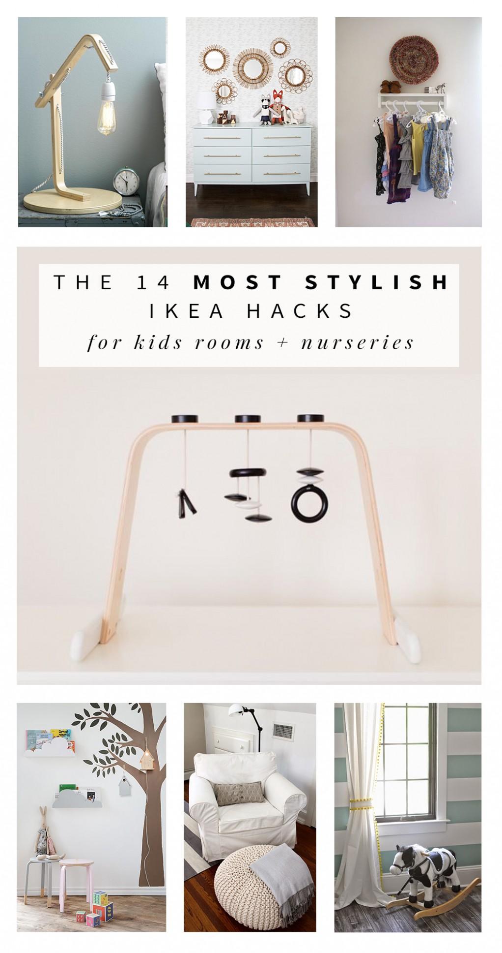 Stylish Ikea Hacks for Kids Rooms and Nurseries - Baby Room Hacks