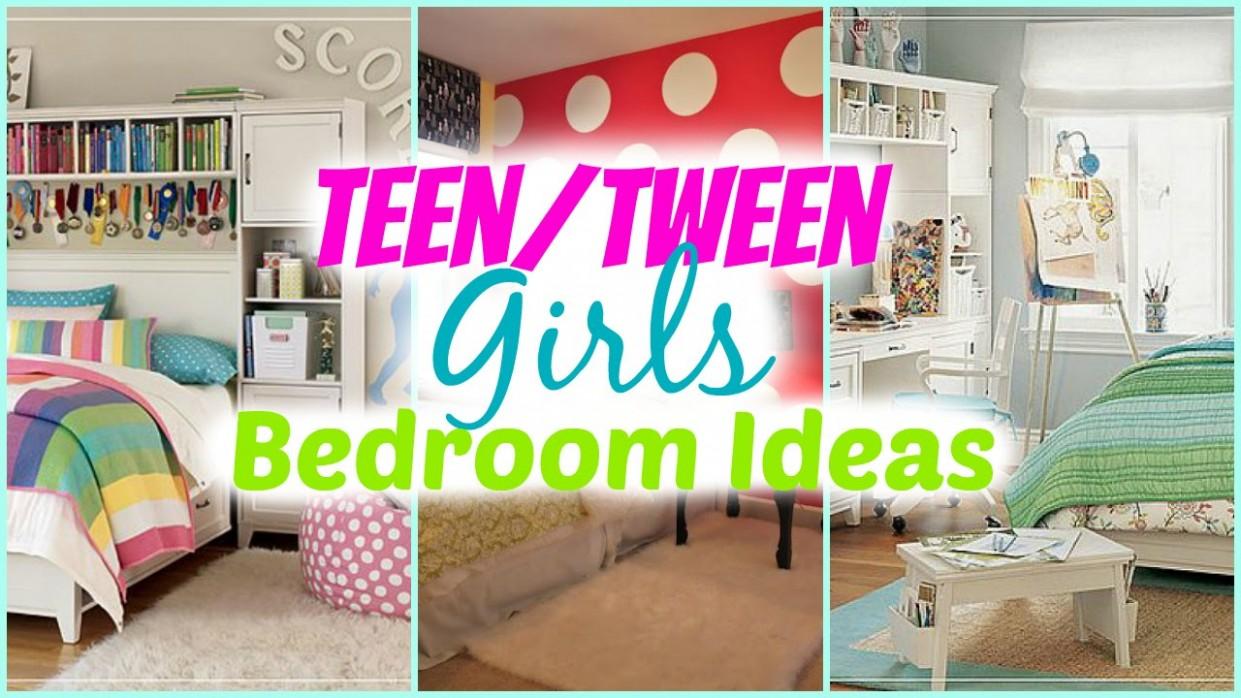 Teenage Girl Bedroom Ideas + Decorating Tips - Bedroom Ideas Youtube
