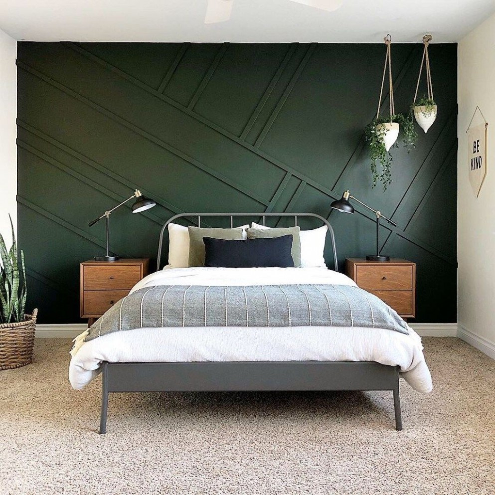 The Best Dark Green Paint Colors To Use in Your Home!  Bedroom  - Bedroom Ideas Dark Green