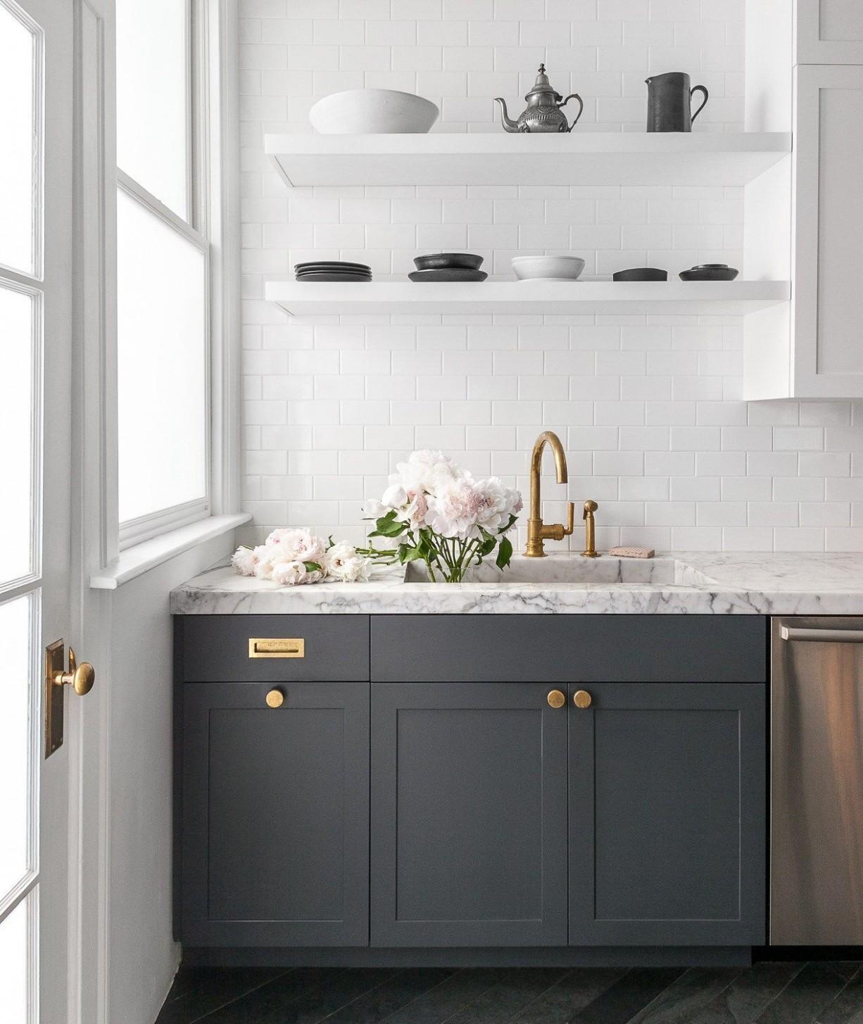 The Best Modern + Minimal Cabinet Hardware - The Identité Collective - Best Kitchen Cabinet Handles