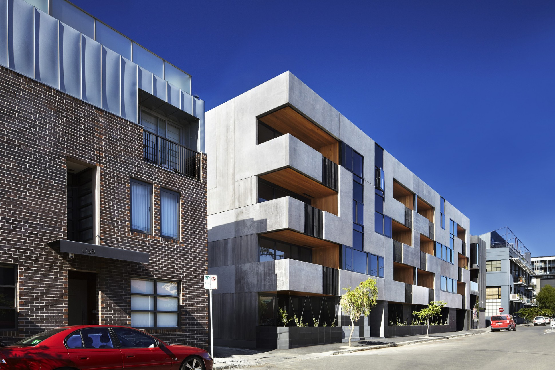 The Maze Apartments / CHT Architects  ArchDaily - Apartment Design Facade