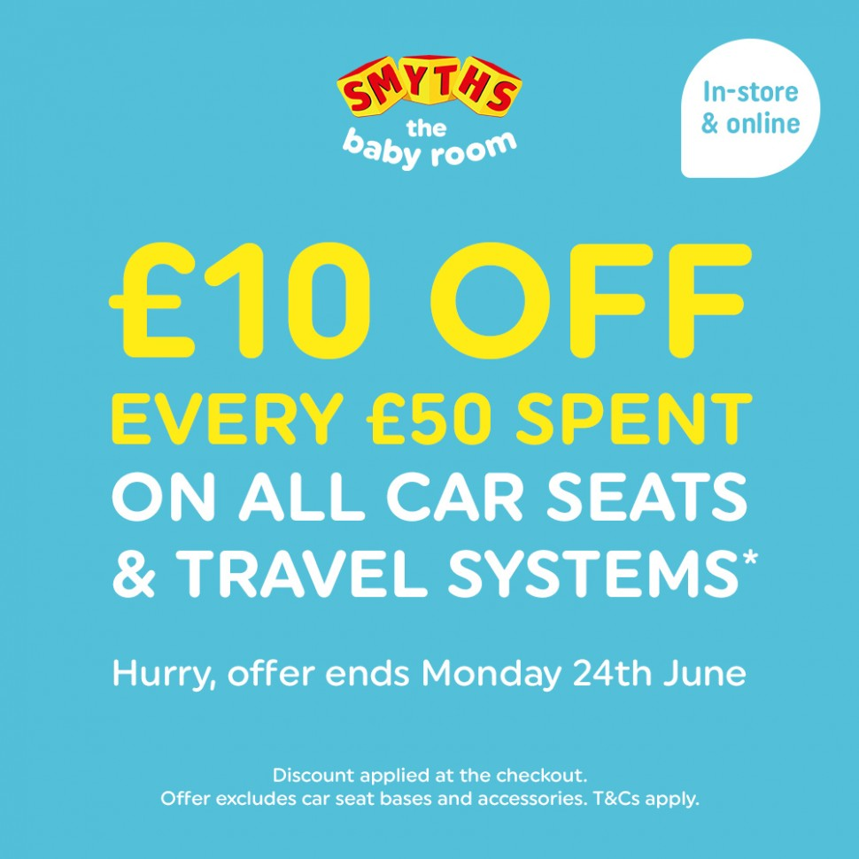 The Smyths Baby Sale is now on and WIN a £11 voucher! - The  - Baby Room Voucher
