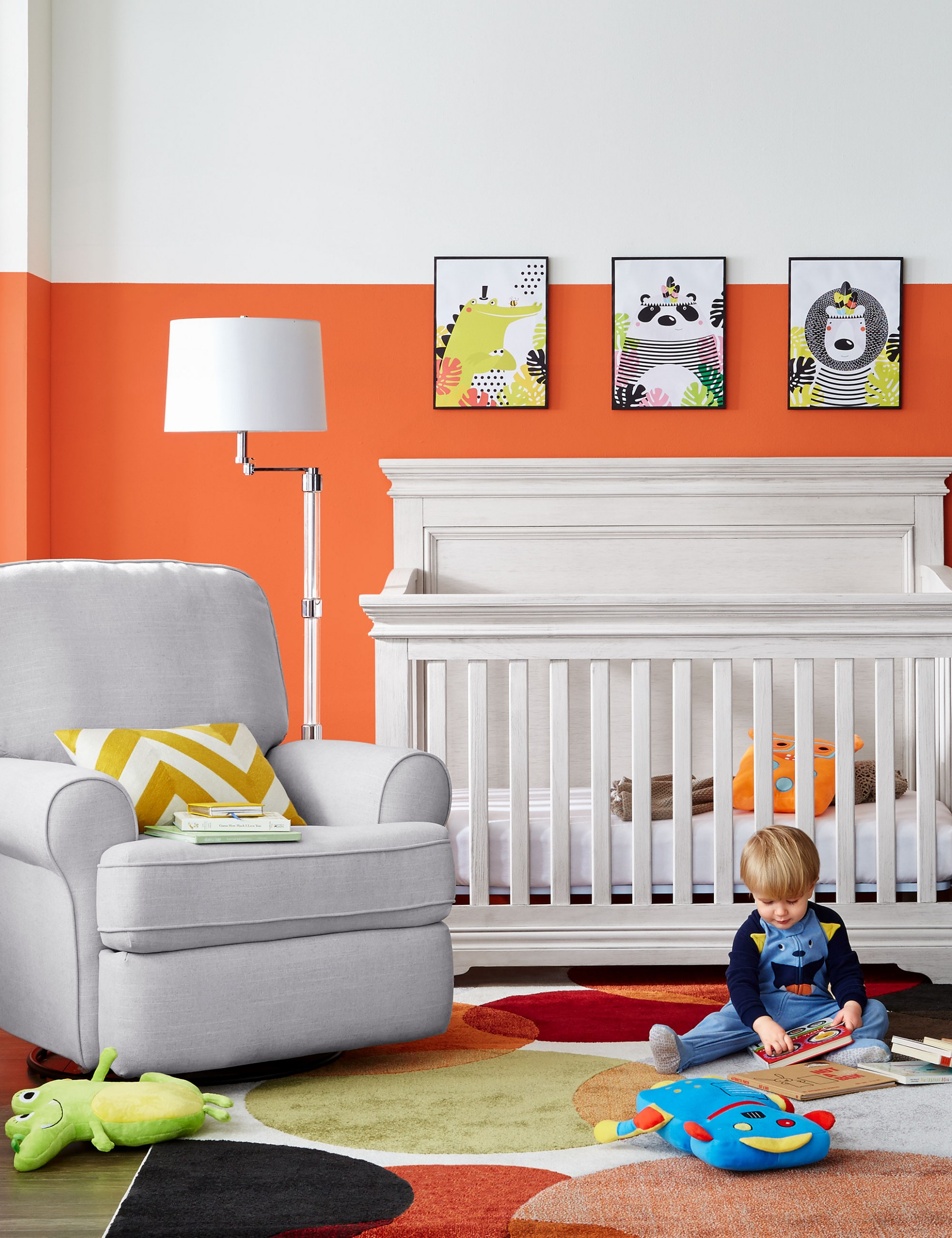 The Unexpected Colour in this Gender Neutral Nursery - Hello YELLOW - Baby Room Grey
