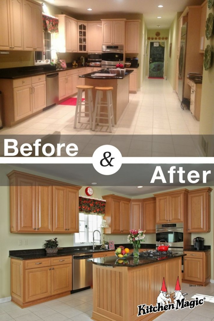 These Holmdel, New Jersey homeowners had 12 problems that made them  - Refacing Kitchen Cabinets New Jersey