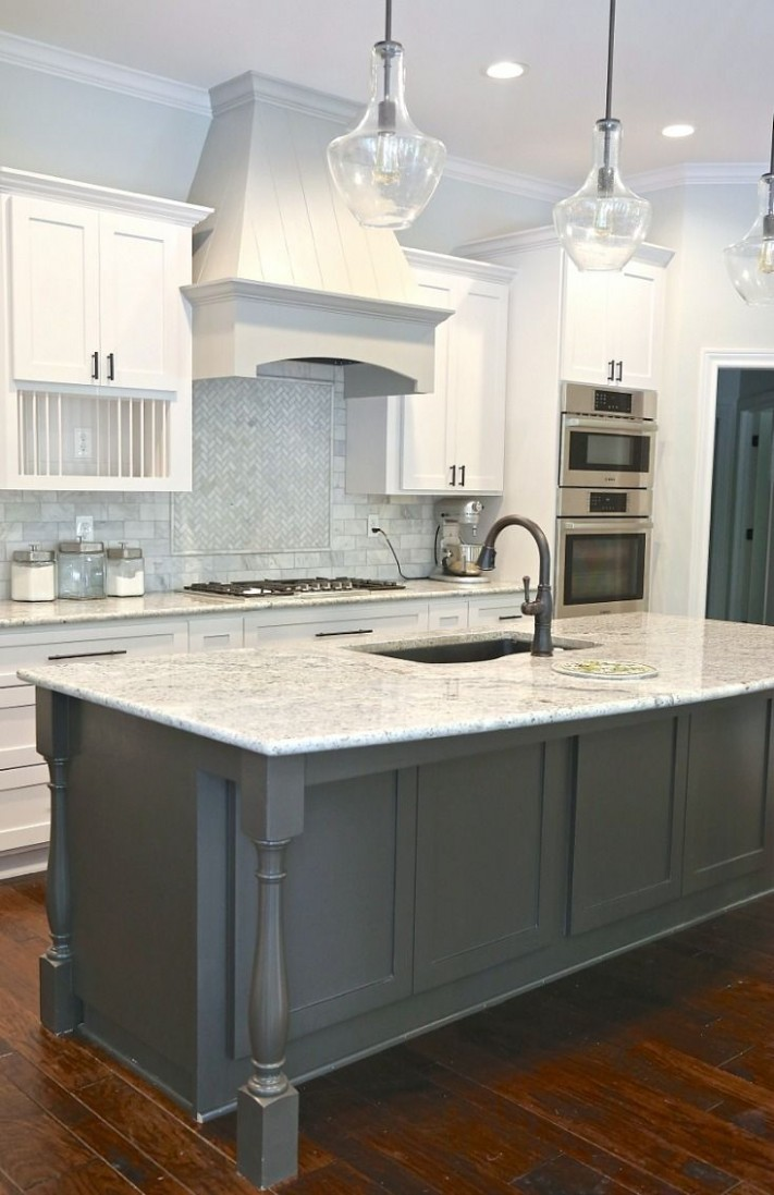 Tips for Choosing Whole Home Paint Color Scheme  Popular kitchen  - Choosing Kitchen Cabinet Color
