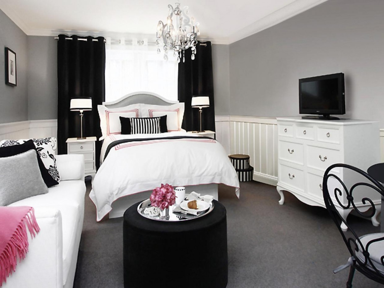 Tips for Designing a Stylish Small Bedroom  HGTV - Small Bedroom Ideas Queen Bed